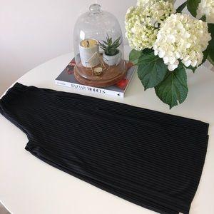 Zara High Waisted Culottes With Slits